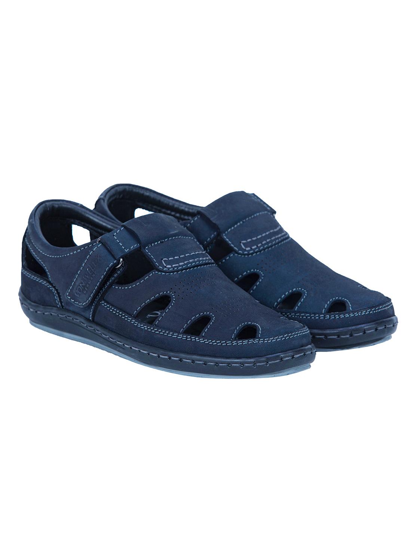 Buy Von Wellx Germany Comfort Tread Blue Sandals Online in Kandy