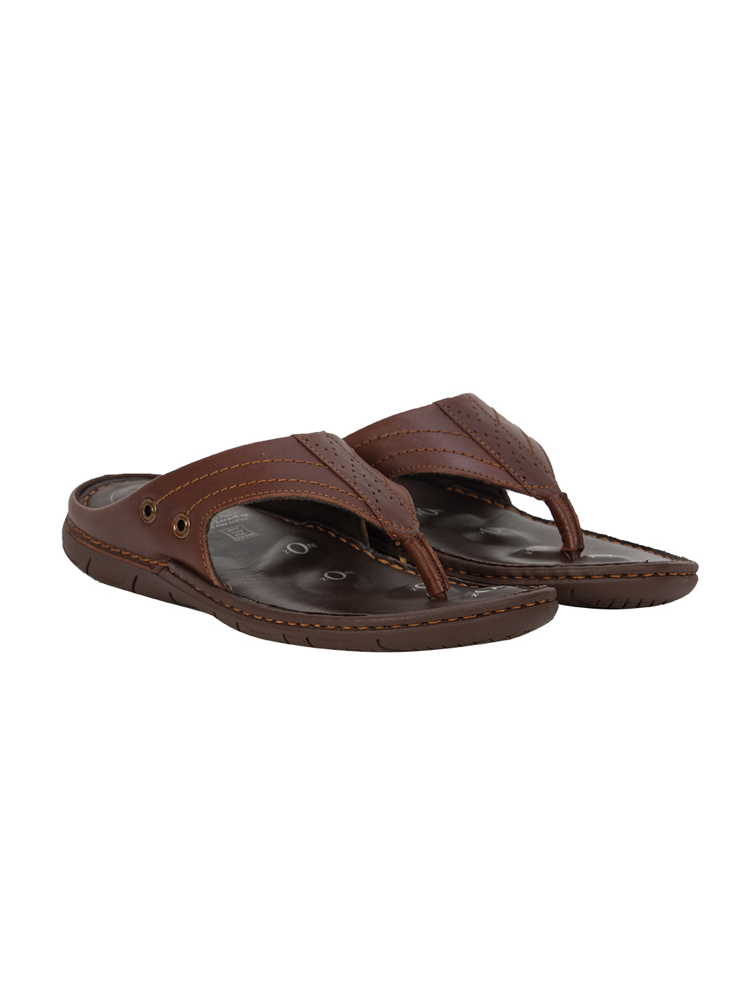 Buy Von Wellx Alex Comfort Brown Slippers Online in Kandy