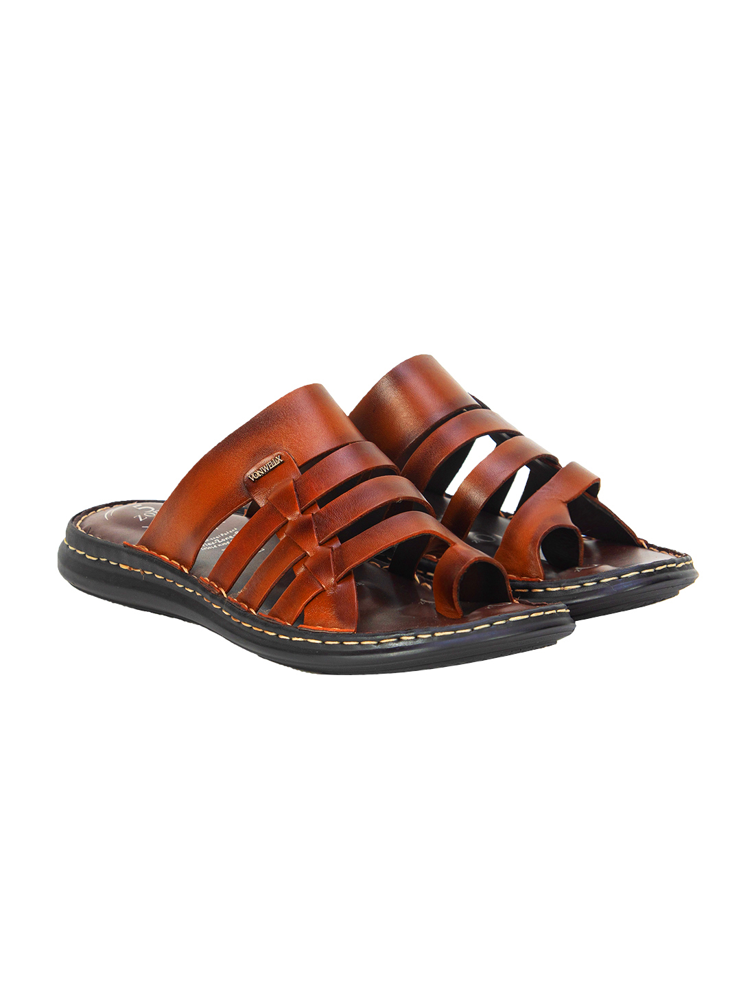Buy Von Wellx Amble Casual Brown Slide Online in Chennai