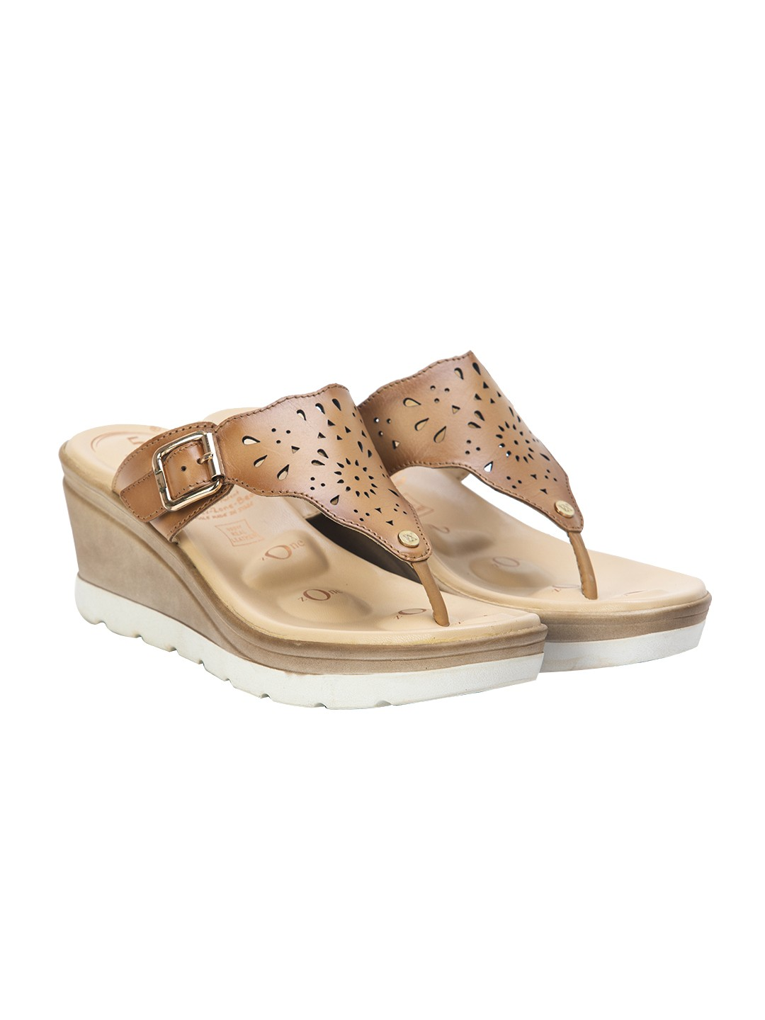 Buy Von Wellx Germany Comfort Ella Beige Slippers Online in Lucknow