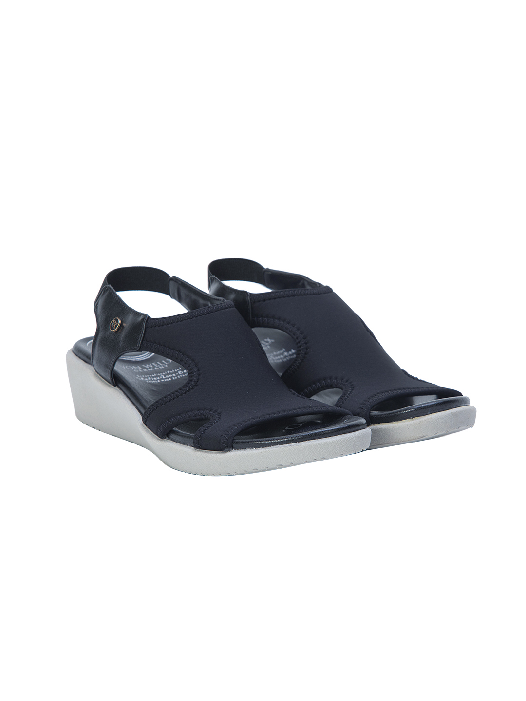 Buy Von Wellx Germany Comfort Shirley Black Sandals Online in Agra