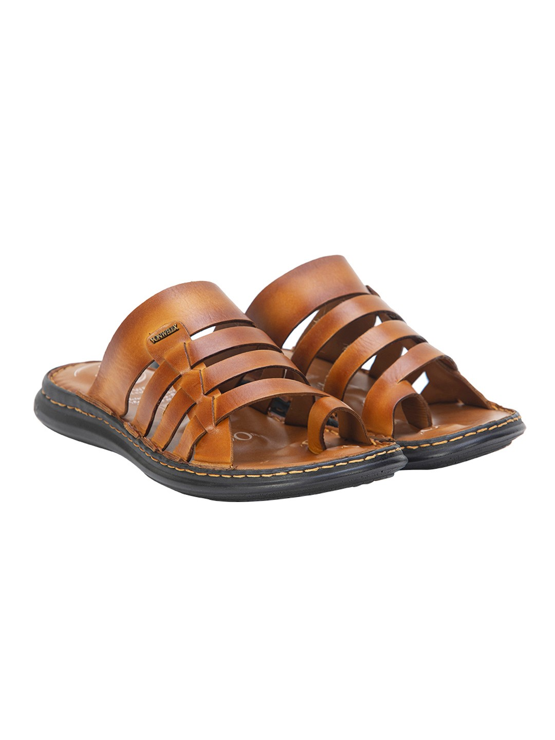 Buy Von Wellx Amble Casual Tan Slide Online in Chennai