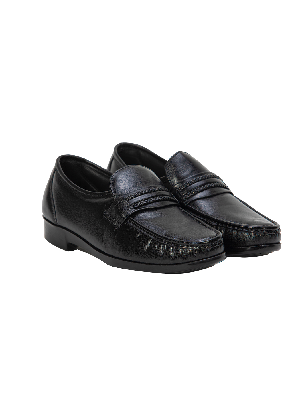 Buy Von Wellx Germany Comfort Black Gavin Shoes Online in Agra