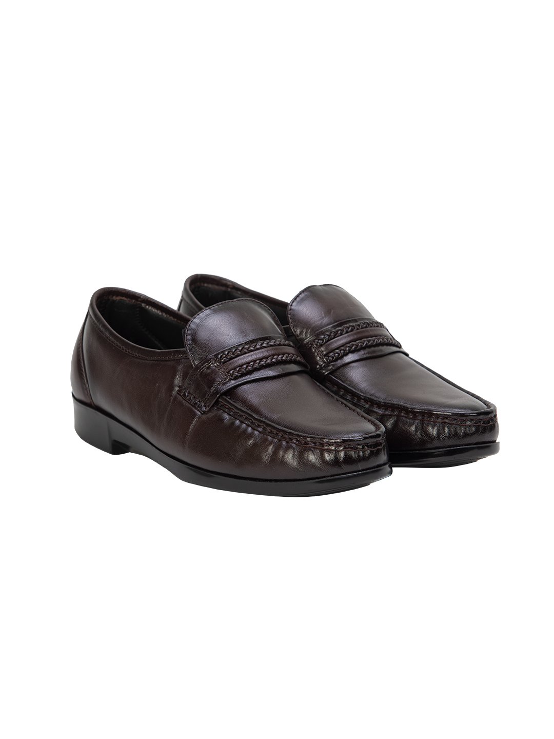 Buy Von Wellx Germany Comfort Brown Gavin Shoes Online in Agra