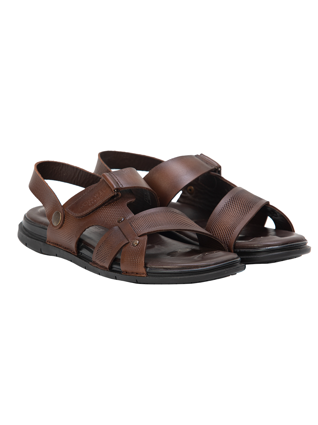 Buy VON WELLX GERMANY COMFORT BROWN OWEN SANDALS In Delhi