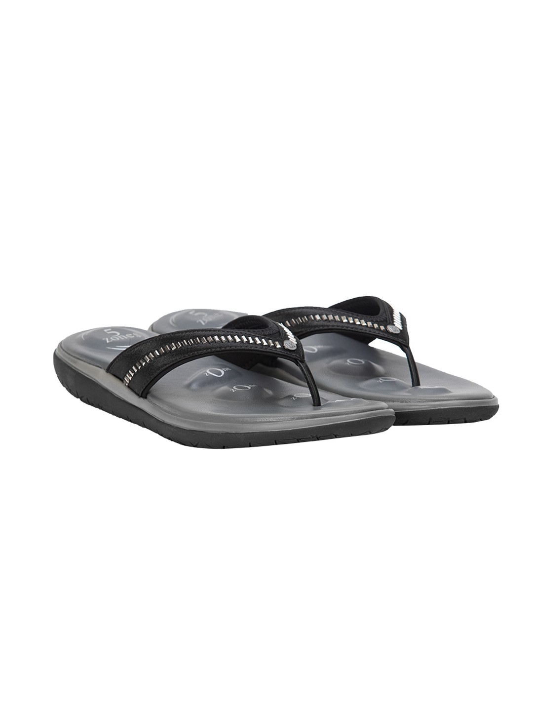 Buy Von Wellx Molly Comfort Black Slipper Online in Maharashtra
