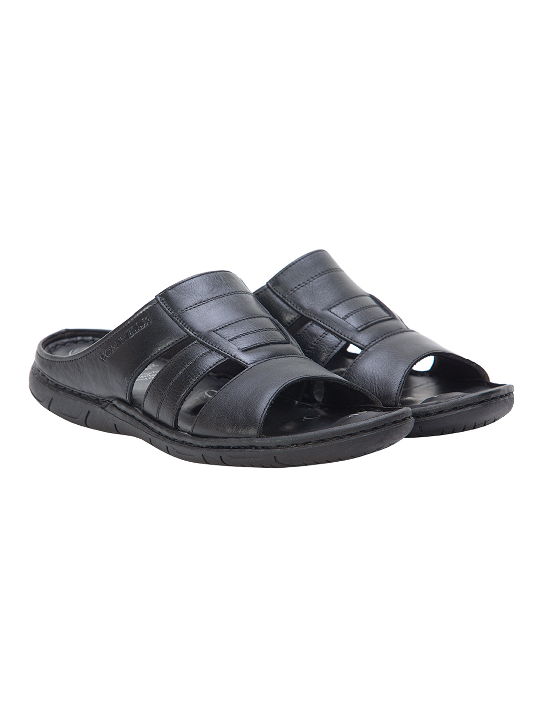 Buy Von Wellx Germany Comfort Gait Black Slippers Online in Kandy