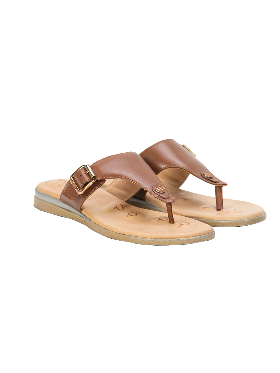 Buy Von Wellx Germany Comfort Daisy Thong Brown Slippers Online in Ghaziabad