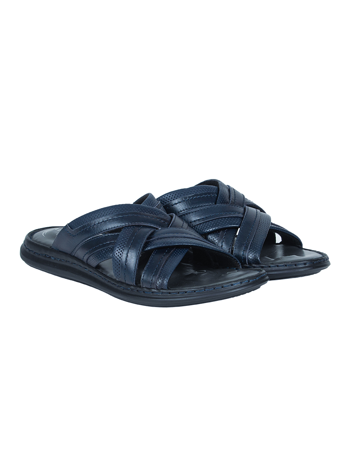 VON WELLX GERMANY COMFORT BLUE RIVEL SLIPPERS