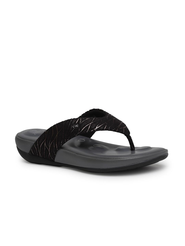 Buy Von Wellx Germany Comfort Vivian Black Slippers Online in Karnataka