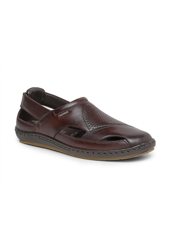 Buy Von Wellx Germany Comfort Men's Brown Sandal Eddie Online in Rajkot