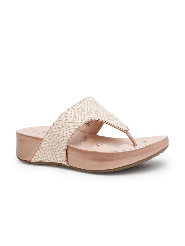 VON WELLX GERMANY comfort women's peach slippers CLARISSA