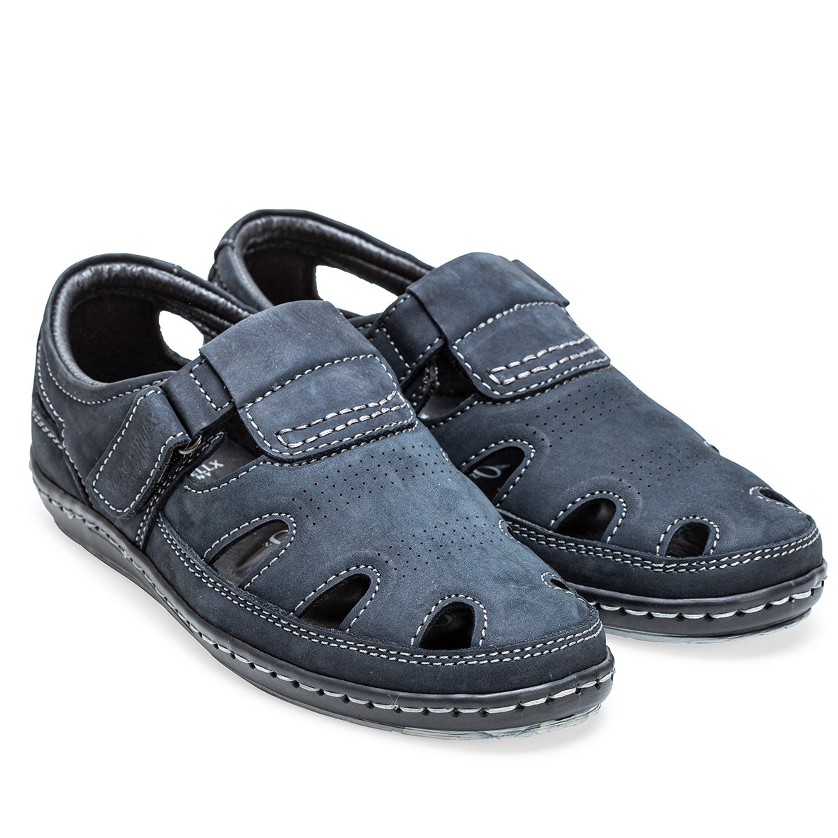 Buy Von Wellx Germany Comfort Tread Blue Sandals Online in Bangalore