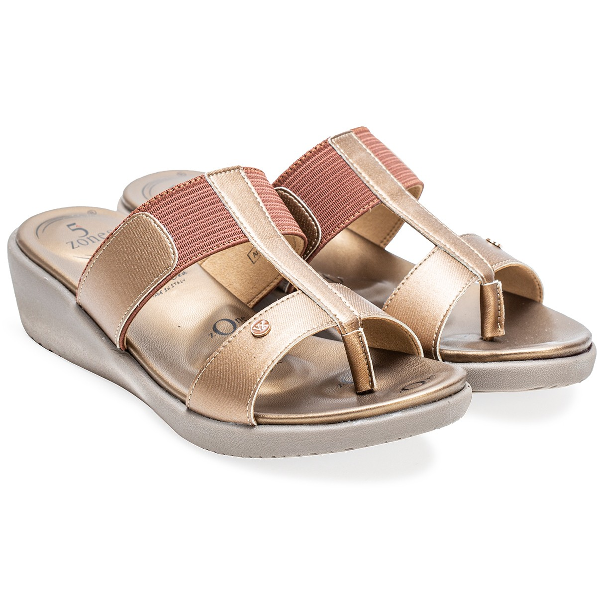 Buy Von Wellx Germany Comfort Glaze Browns  Slippers Online in Ahmedabad