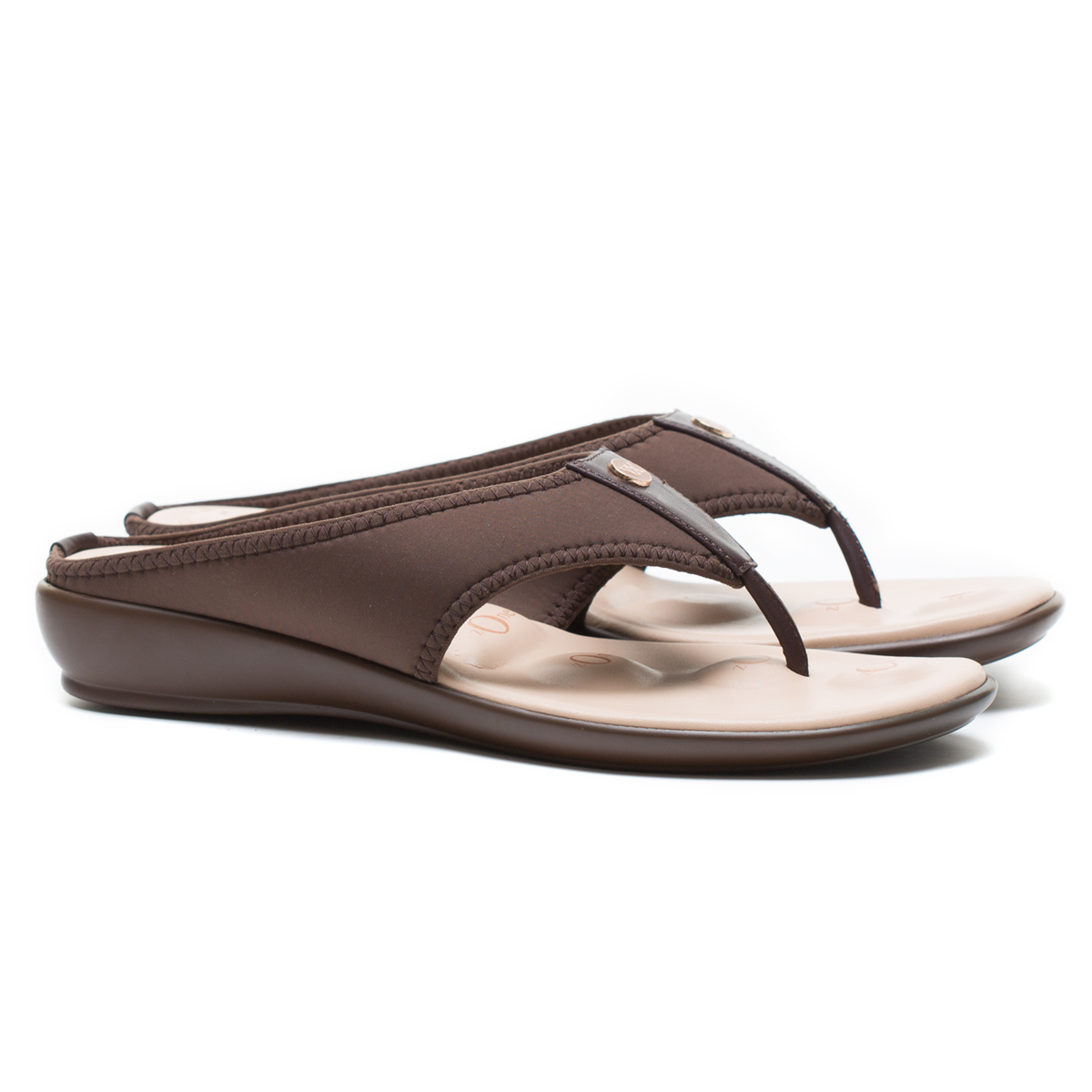 Buy Von Wellx Joanna Comfort Brown Slippers Online in Indore