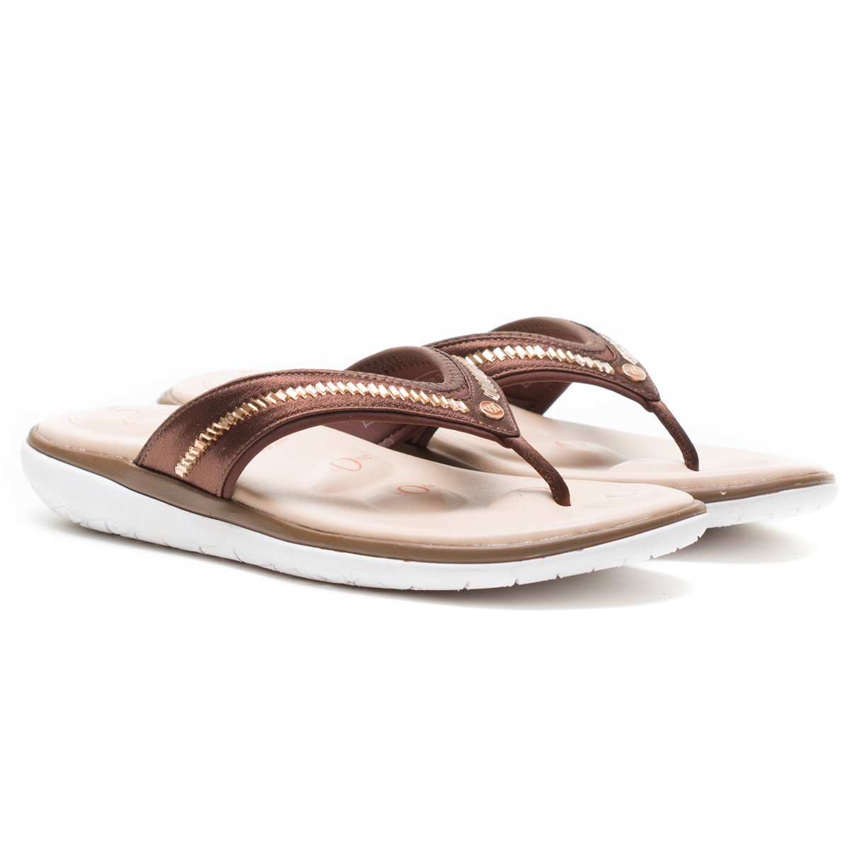 Buy Von Wellx Molly Comfort Brown Slipper Online in Indore
