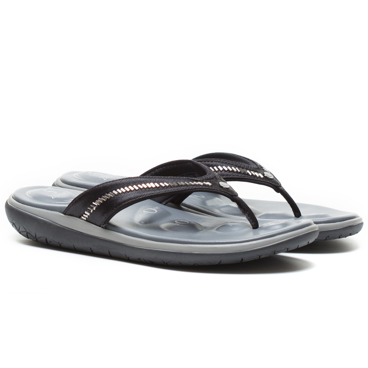 Buy Von Wellx Molly Comfort Black Slipper Online in Ahmedabad