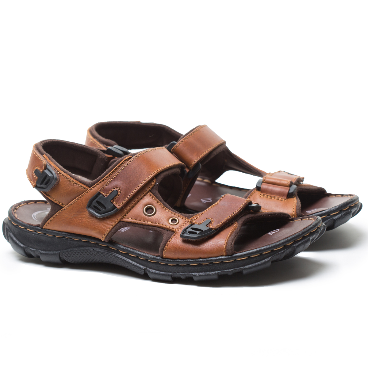 Buy Von Wellx Kozan Comfort Tan Sandals Online in Maharashtra