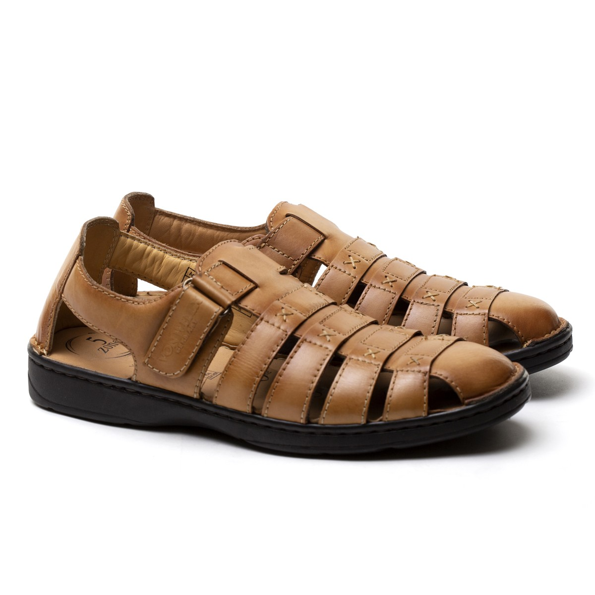 Buy Von Wellx Germany Comfort Melvil Tan Sandals Online in Bangalore