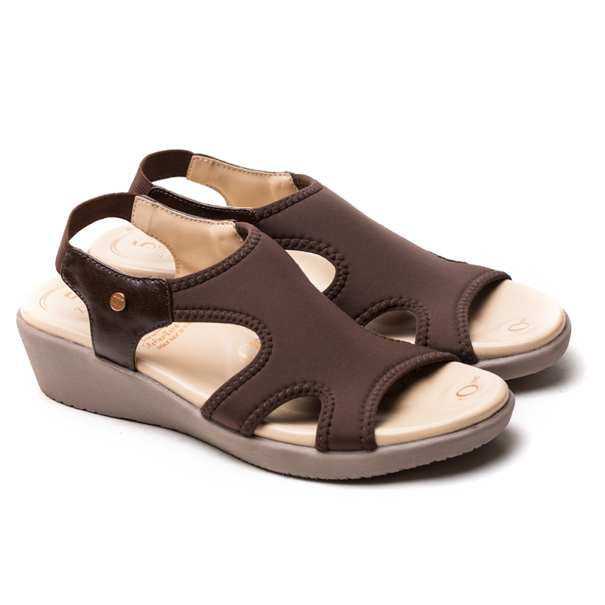 Buy Von Wellx Germany Comfort Brown Shirley Sandals Online in Ranchi