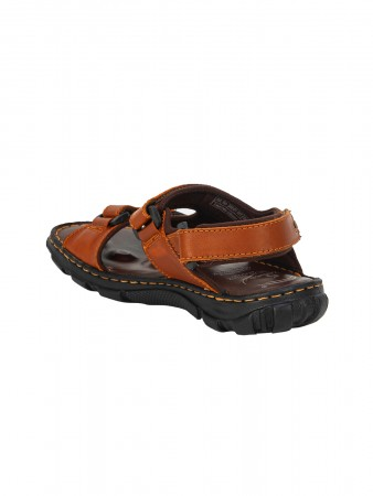 VON WELLX KOZAN COMFORT TAN SANDALS