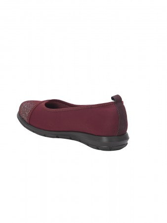 VON WELLX GERMANY COMFORT PACE MEHROON CASUAL SHOES
