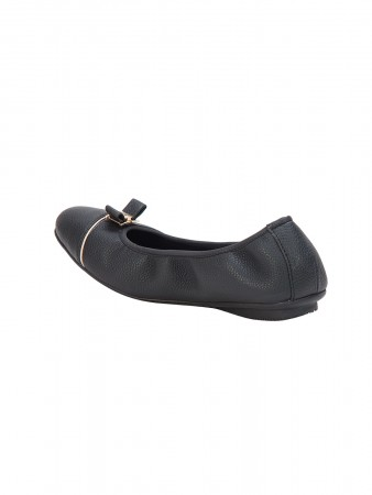 VON WELLX GERMANY COMFORT POISE CASUAL BLACK SHOES