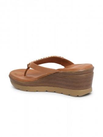 VON WELLX GERMANY comfort women's beige casual slippers KARL