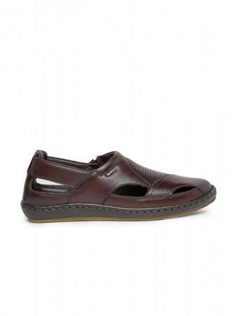 VON WELLX GERMANY comfort men's brown sandal EDDIE