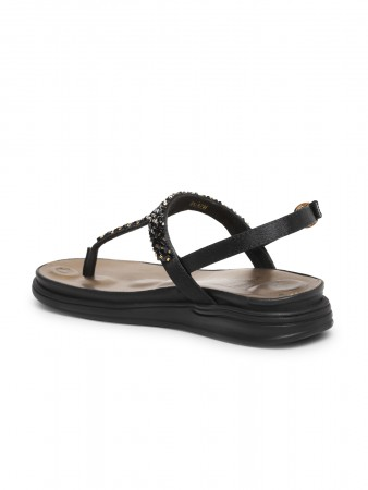 VON WELLX GERMANY comfort women's black slippers SOFIA