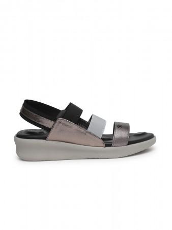 VON WELLX GERMANY comfort women's black sandals SADIE