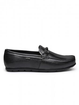 VON WELLX GERMANY comfort men's black slipon KASON