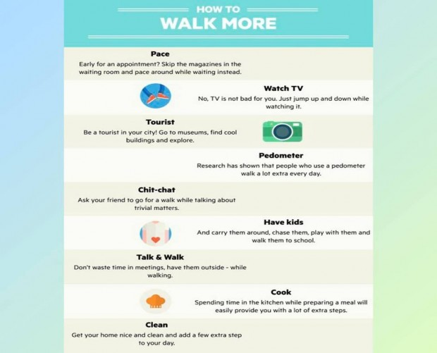 How to Walk more