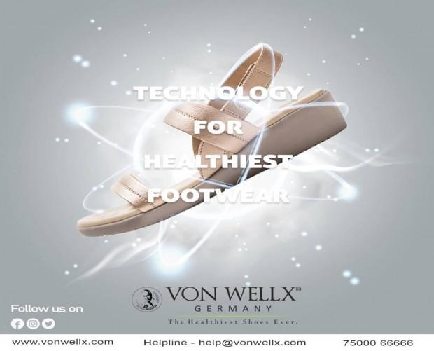 Internationally patented technology based on Reflexology heals you as you walk