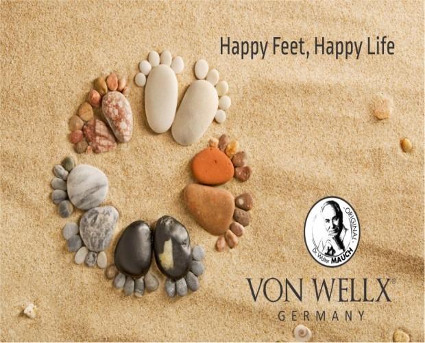 Happy feet,Happy life