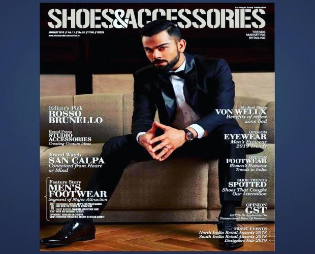 Von Wellx Germany headlining Shoes, Accessories Magazine
