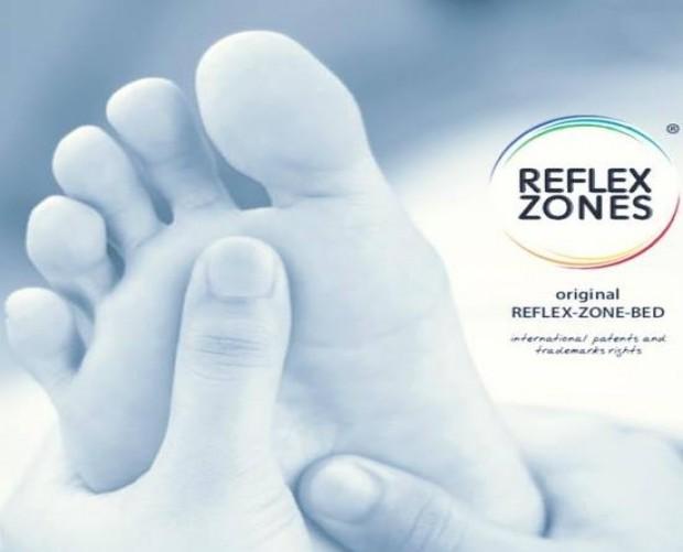 Original Reflex zone bed for maximum comfort!