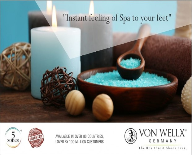 Instant feeling of Spa to your feet