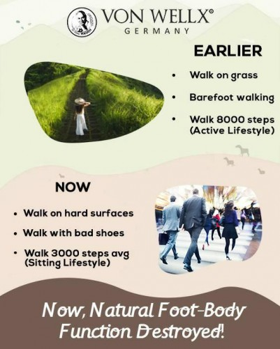 Now,Natural Foot Body Function Destroyed!
