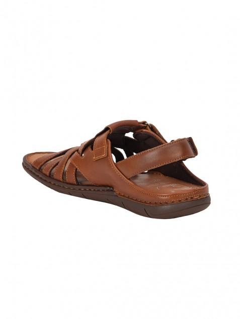 Buy Von Wellx Germany Comfort Stride Tan Sandals Online in Udaipur