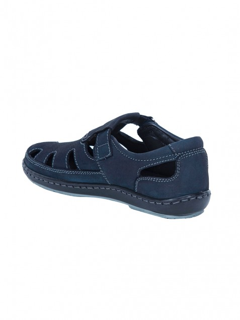 Buy Von Wellx Germany Comfort Tread Blue Sandals Online in Muscat