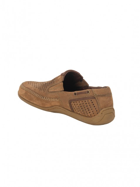 Buy Von Wellx Germany Comfort Chikoo Ian Shoes Online in Agra