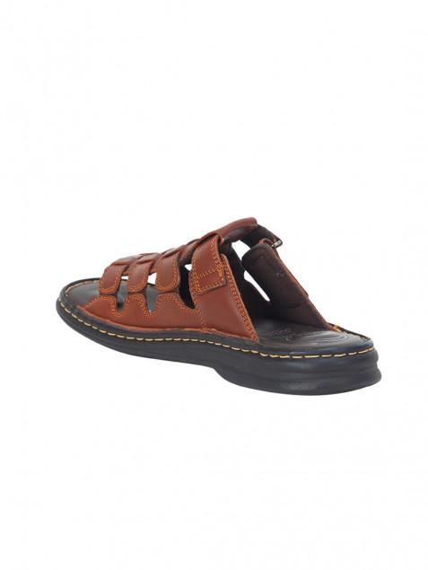 Buy Von Wellx Germany Comfort Brown Connor Slippers Online in Kandy