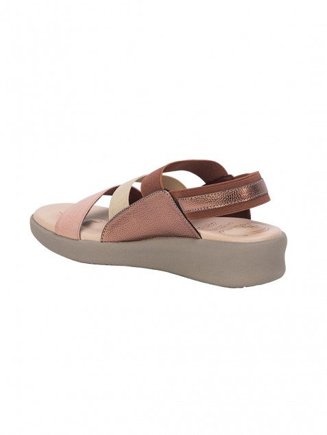 Buy VON WELLX GERMANY COMFORT CAMILA BROWN SANDALS In Delhi