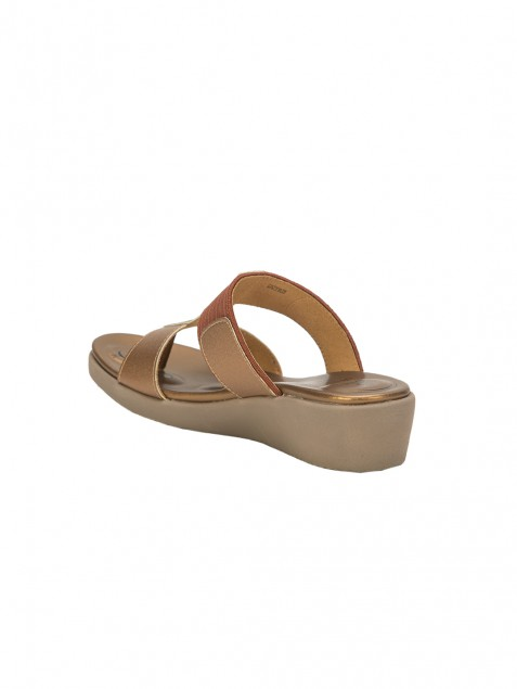 Buy Von Wellx Germany Comfort Glaze Browns  Slippers Online in Lucknow