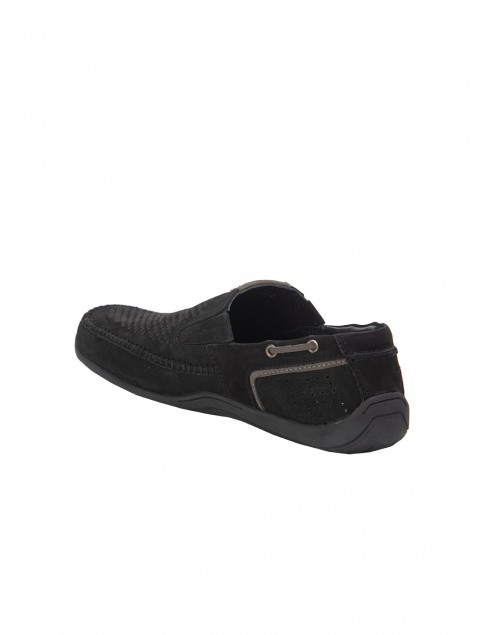 Buy Von Wellx Germany Comfort Black Ian Shoes Online in Gujarat