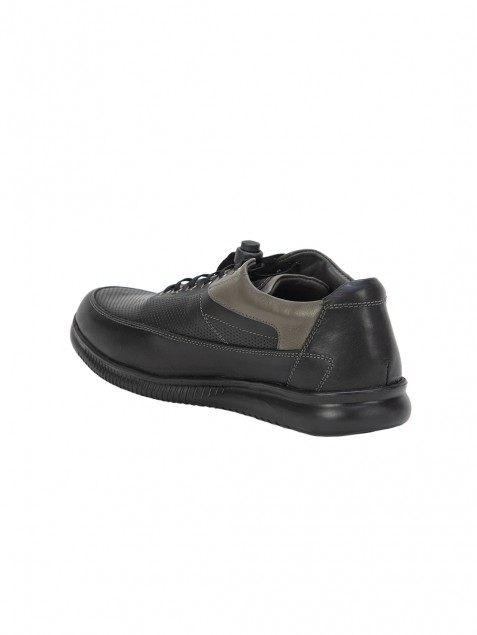 Buy Von Wellx Germany Comfort Black Tyler Shoes Online in Gujarat