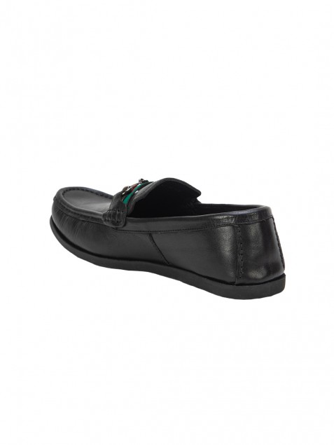 Buy VON WELLX BRYCE COMFORT BLACK LOAFER In Delhi