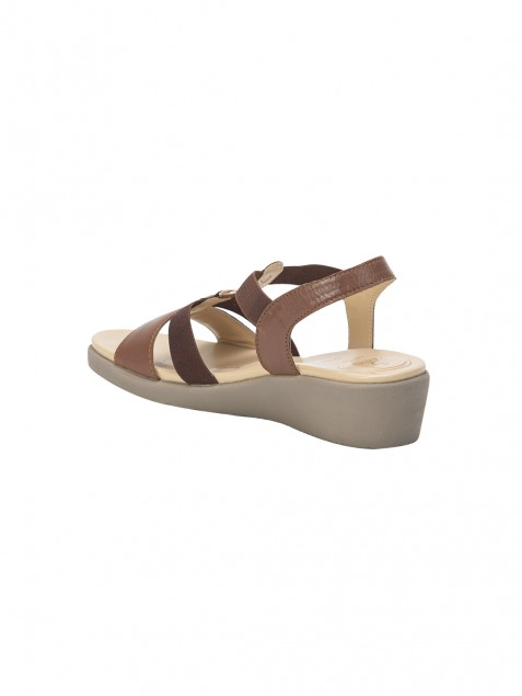 Buy Von Wellx Amos Comfort Tan Sandals Online in Tiruchirappalli