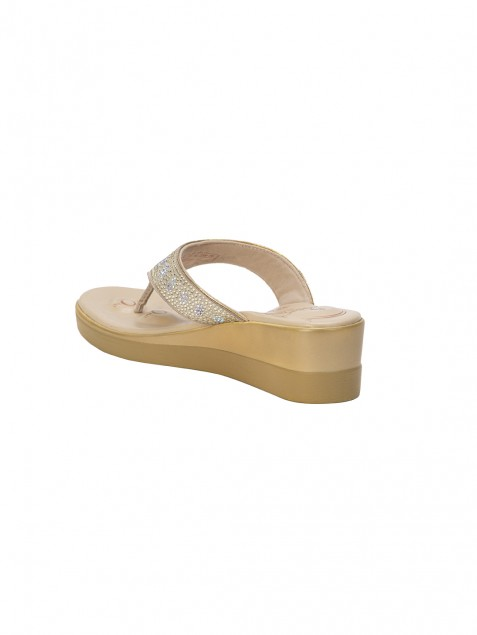 Buy Von Wellx Quinn Comfort Tan  Slippers Online in Doha
